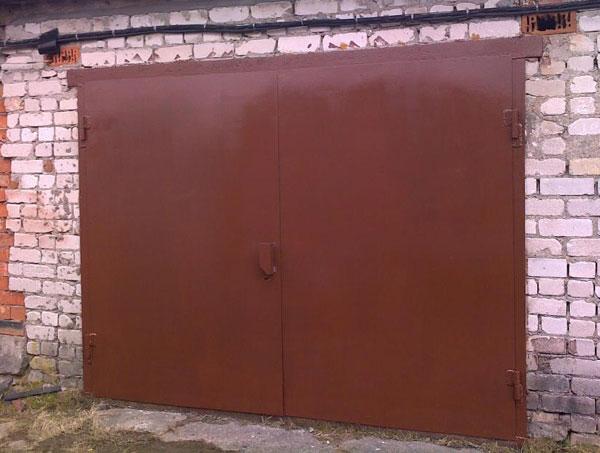 гаражные ворота на заказ цены